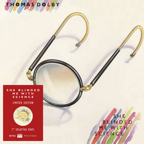 Thomas Dolby She Blinded Me With Science-7 Inch Single